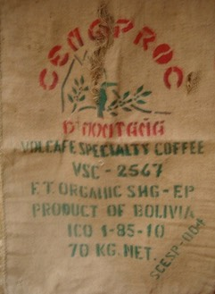 Bolivia Coffee