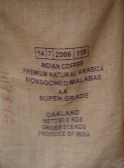 Indian Monsooned Coffee